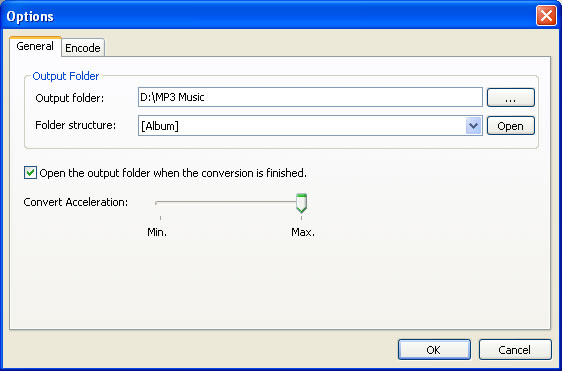 how to change aac file to mp3