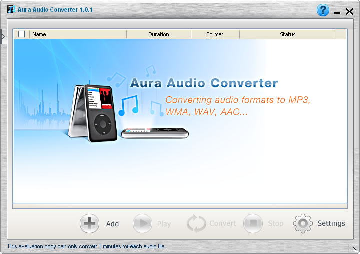 Aura Audio Converter screenshot