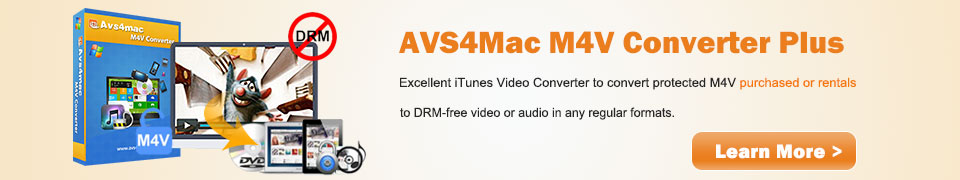 Introducing AVS4Mac M4V Converter Plus