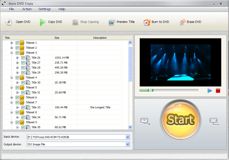 Backup your DVDs with Aura DVD Copy software