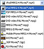 Convert videos to MP4, WMV, MPEG, AVI and many other popular video formats.