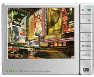 Use ARCHOS 405 video converter to rip DVD movies and convert video formats