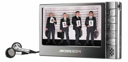 Use ARCHOS 604 video converter to rip DVD movies and convert video formats