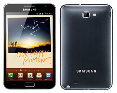 Samsung Galaxy Note video converter