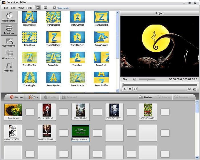 simple pc video editor