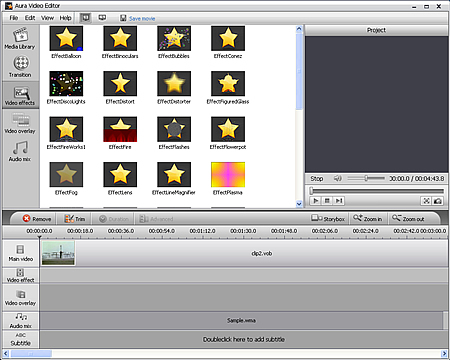 Aura Creative ZEN Vision video editor