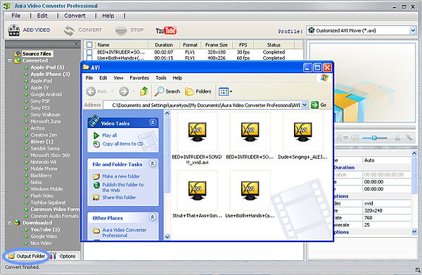 Get converted YouTube videos converted by the YouTube to PSP 3000 Converter